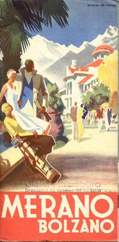 ITALY - Merano - Bolzano, 1936