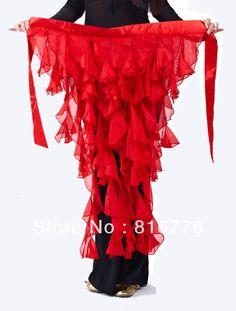M-BL004 Belly Dance Costume Tribal Hip Scarf Belt