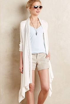 Pointelle Colonnade Cardigan