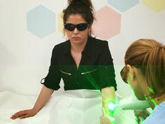 Andreea a inceput procedura de eliminare a tatuajelor cu laser, pentru o piele perfecta. http://www.salonbonton.ro