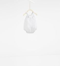 Knot romper suit-BABY SHOWER-MINI | 0-12 months-KIDS | ZARA United States