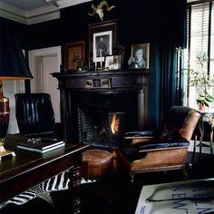 gentleman's study kathy kuo home