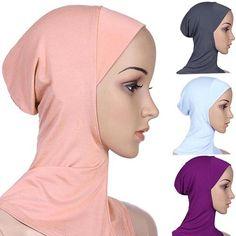 Muslim hijab Islamic short hijab for women Muslim inner cap islamic abaya dubai kaftan top quality islamic hijab WL2322