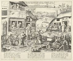 Luiaards, Frans Huys, 1546