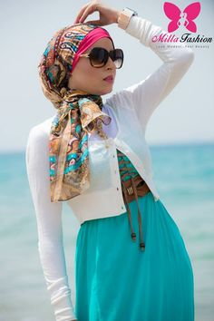 Hijab new collection by Milla's fashion http://www.justtrendygirls.com/hijab-new-collection-by-millas-fashion/