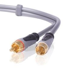 CE Compass Premium 25FT Gold RCA Stereo Audio Cable 2RCA To 2 RCA Male To Male For DVD, HD-TV by CE Compass. $7.66. RCA Stereo Audio cables are excellent for connecting your Stereo, DVD, HD-TV, and all other home theater audio involved equipment. These high performance gold contact cables are colored for easy installation and identification of left and right channels and are 100 percent shielded offering superb protection against EMI/RFI interference.