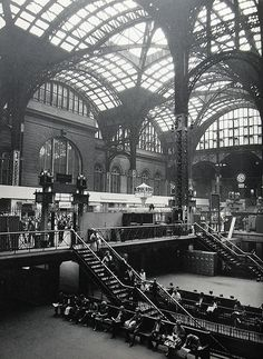New York City 1960s Old Pennsylvania Station Vintage by Christian Montone