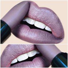 Dusty lilac purple lips | MELT Cosmetics in Stepford #lipstick #lip color #makeup #beauty #grunge #fall @aspa_shidaqin