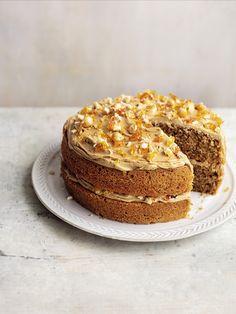 Praline Cake, Hazelnut Praline, Hazelnut Cake, Decadent Chocolate Cake, Mary Berry Chocolate Cake, White Chocolate, British Bake Off Recipes, Scottish Recipes, Baking Recipes