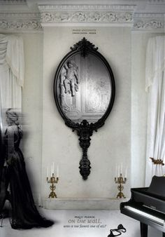 mirror mirror... I need this!!!-every boho women needs this as wall decor :)
