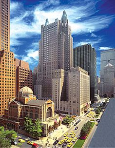 The Waldorf Astoria in New York City - perfect hotel to stay for a traditional NY experience.