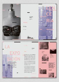 DONNA // 02 - Exposición Lencería on Behance - by Belén Saralegui