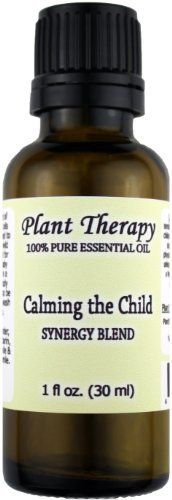 Calming the Child Synergy Essential Oil Blend. 30 ml (1 oz). 100% Pure, Undiluted, Therapeutic Grade. (Blend of: Lavender, Tangerine, Mandarin, Roman Chamomile and German Chamomile) Plant Therapy Essential Oils,http://www.amazon.com/dp/B0069SQGO6/ref=cm_sw_r_pi_dp_V4W3sb0VMCV4CNPA
