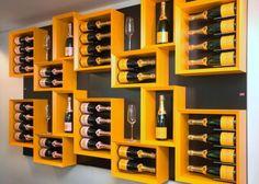 #Porta #bottiglie #vino di #design #Esigo 5 con finiture personalizzate - Modern #design #wine rack Esigo 5 with #custom finishes
