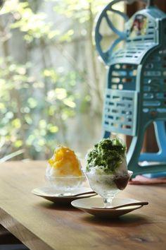京都祇園nitiは天然氷のかき氷が食べられるしっとり和カフェ