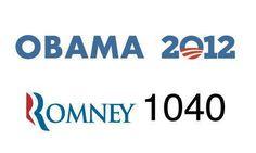 Obama 2012    Romney 1040