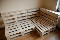 pallet corner couch - Google Search