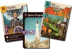 Space Race: The Card Game by Jan Soukal — Kickstarter
