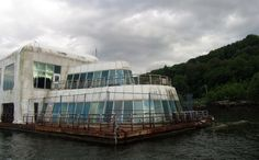 Canada, Vancouver, British Columbia - McBarge or the Friendship 500 – a floating McDonald's. Abandoned for the past 27 years after its debut in the Expo '86. Designed by Robert Allen Ltd., it was 1 of 5 McDonald's at the Expo.