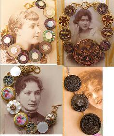 button jewelry by Allie love it! must try! #ecrafty