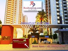 Paramount emotions in Greater Noida West  Paramount Emotions, the fresh project launched 2/3/4 BHK Residential Apartments in Greater Noida West, Starting Price with 26 lac onwards. Visit:- http://www.realtorprop.com/property/paramount-emotions-202.htm