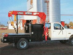 UNIC Truck-mounted crane Truck Flatbeds, Trucks, Truck Mounted Crane, Cars And Motorcycles, Vehicles, Truck, Car, Vehicle, Tools