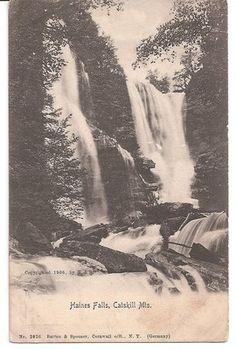 Catskill Mountains 1906 antique postcard New York