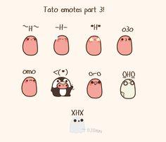 Tato emotes!!!!! • H •