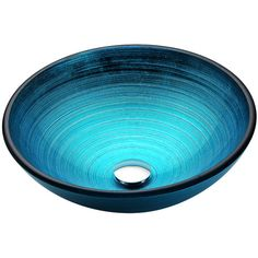 ANZZI Enti Lustrous Blue Tempered Glass Vessel Round Bathroom Sink (Drain Included) at Lowe's. The ANZZI Enti series sink is a traditionally crafted round vessel sink adorned in a lustrous blue finish. Each ANZZI vessel sink if formed using RHINO Glass Bathroom Sink, Glass Vessel Sinks, Bathroom Ideas, Bathroom Designs, Bathroom Renovations, Modern Bathroom, Small Bathroom, His And Hers Sinks, How To Wash Vegetables