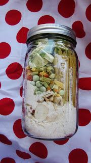 Meals in a Jar - 52 Food Storage lifesavers. Meals you like and can store with a 5-7 yr shelf life. Brilliant.