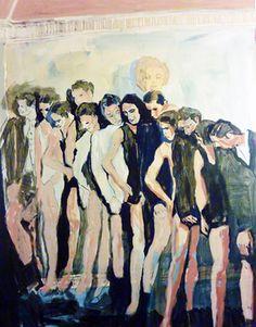 "Saatchi Online Artist Mila Plaickner; Painting, ""Dance"" #art"
