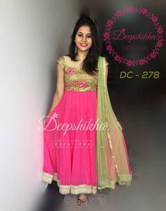 DC - 278For queries kindly inbox orEmail - deepshikhacreations@gmail.com Whatsapp / Call -  919059683293 04 July 2016 29 November 2016