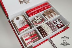 Creare con le mani e con la mente: Calendario Avvento 2013: scatola regalo e kit di natale.