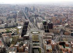 Paseo de la Castellana Madrid, Empire State Building, Travel, Walks, Cities, Viajes, Destinations, Traveling, Trips