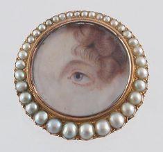 Georgian Eye Jewelry, c.1790-1820 ...