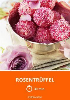 Rosentrüffel - smarter - Zeit: 30 Min. | eatsmarter.de