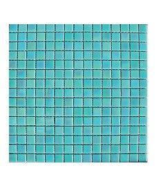 Lustre Pearl/Apple 20x20mm Glass Mosaic Tile