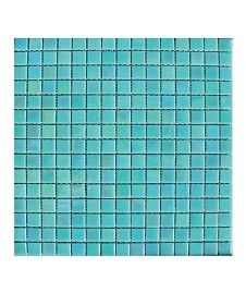 Lustre Pearl/Apple 20x20mm Glass Mosaic Tile