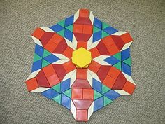 100 pattern block designs