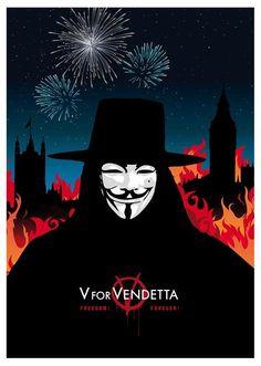 Alternative poster V for Vendetta - fireworks Print - Different sizes - House of Parliament Big Ben London - Home Decor cave room fan art. V For Vendetta Poster, V For Vendetta Tattoo, V Pour Vendetta, Big Ben London, Dc Comics, Blue Clouds, Fanart, Cool Wallpaper, Fireworks
