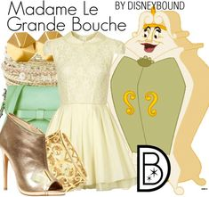 Disney Bound - Madame Le Grande Bouche