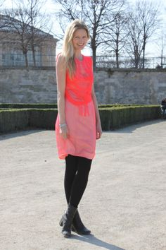 neon and light pink