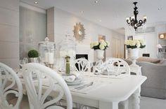 Rubenesque Reminiscent Dining Area