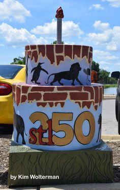 Cakeway to the West - Fairground Park #cakewaytothewest #stl250