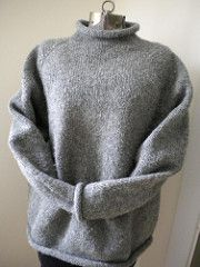 Ravelry: odacier's Sensible NH Sweater made from Deb Gemmell's pattern Take it from the Top  for an enthusiastic beginner