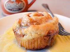 Taste a scrumptious gluten free cinnamon roll from Sweet Ali's Bakery at Egg Harbor Cafe