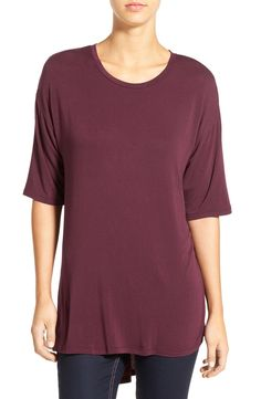BP. Short Sleeve High/Low Tee available at #Nordstrom