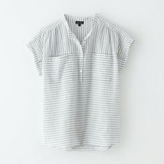 MORE GREY!! Winona Popover Top - Steven Alan