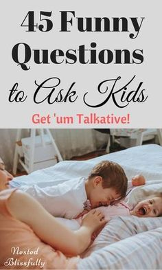 45 Funny Questions to Ask Your Kids These questions come handy when you need to get something done, but your kids need attention! Kids love them, tried and tested. Free Printable of the questions Included. Parenting Advice, Kids And Parenting, Parenting Classes, Foster Parenting, Parenting Styles, Gentle Parenting, Parenting Quotes, Parenting Websites, Peaceful Parenting