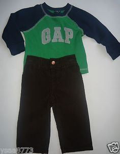 A Free Shipping in USA New with Tag Baby Gap 2 Piece Outfit Size 12 18 Months   eBay